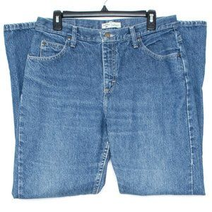 Lee Riders Womens Jeans Relaxed Blue 12 DF